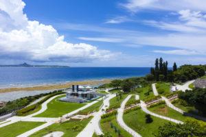 沖縄の世界遺産「座喜味城跡」名将、護佐丸の築いた美しい城跡