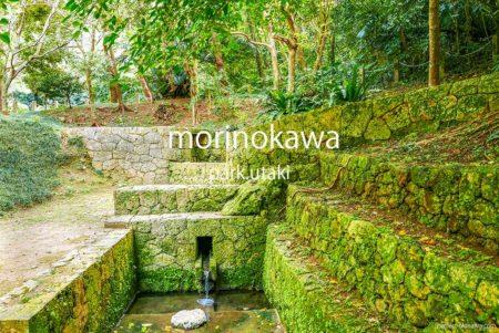 森川公園 歴史と遊び場とさくら
