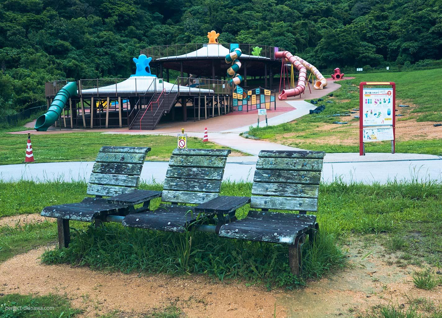 中城城のふもと、広大な中城公園で何をしよう